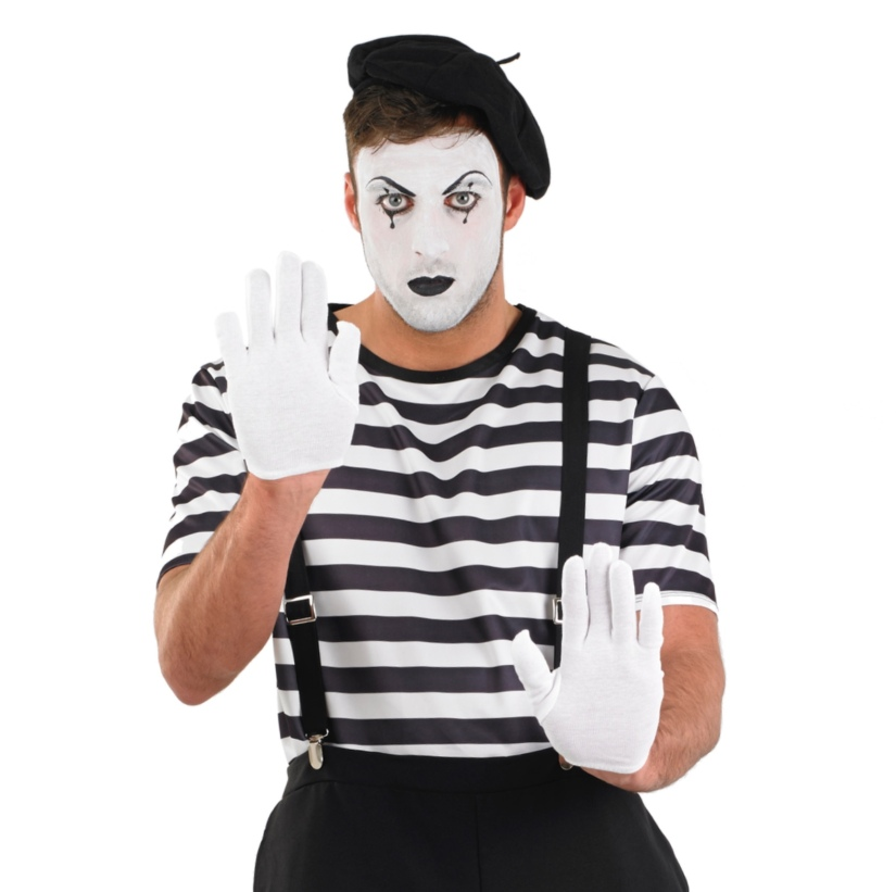 Becoming a Mime Against My Will